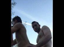 sexo gay ao ar Livre